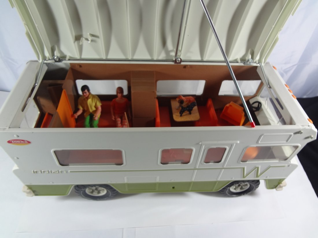 Vintage Tonka Winnebago Indian Camper  Toy - 3