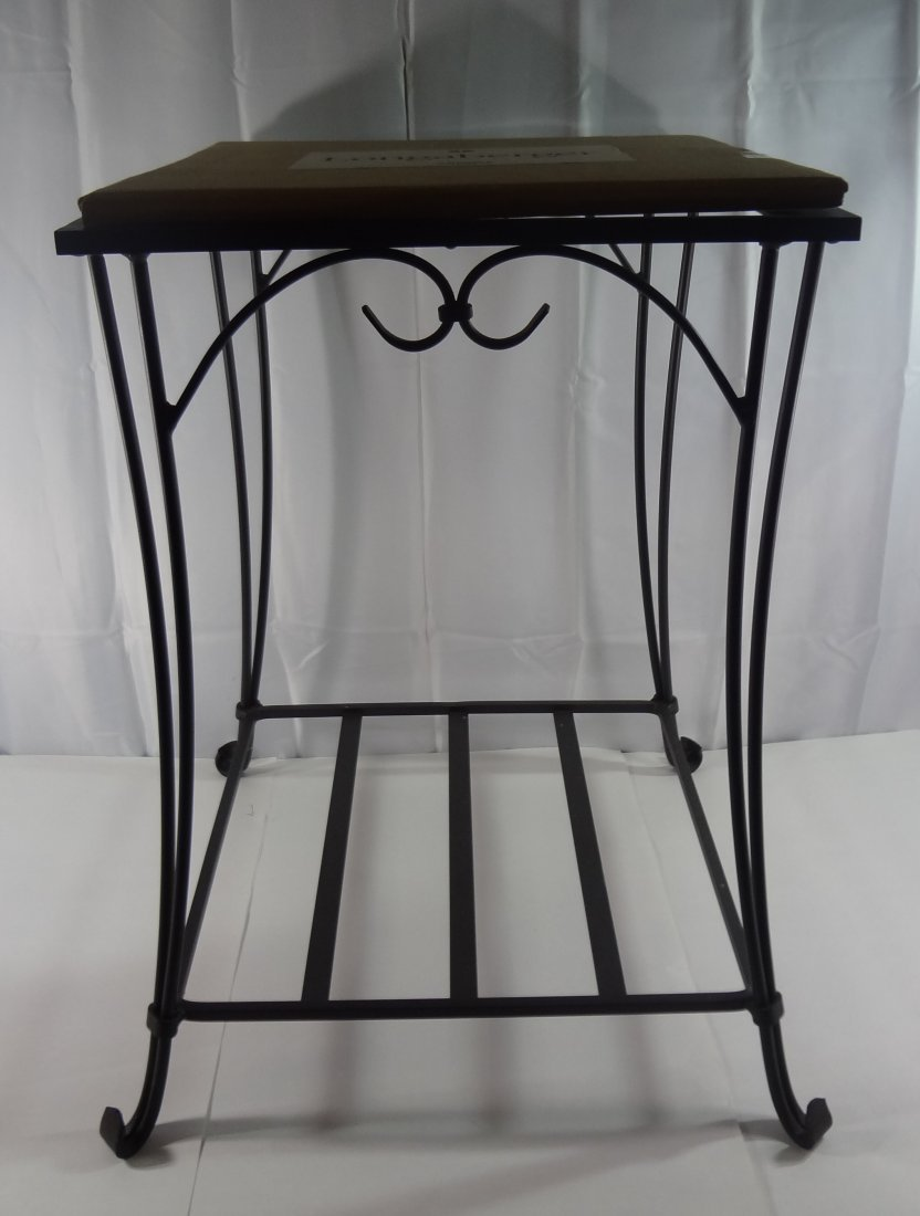 Longaberger Wrought Iron End Table