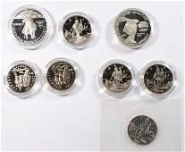 U.S. COMMEMORATIVE COIN LOT: SEE DESCRIPTION