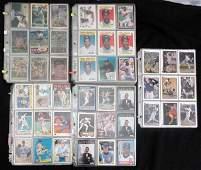 Over 650 BASEBALL STAR CARDS - ALL PREMIUM BRANDS -