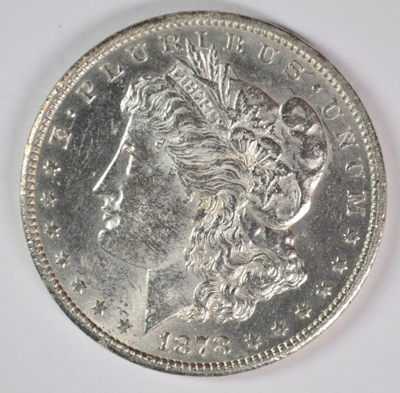 1878-CC MORGAN DOLLAR CHOICE BU SEMI-KEY