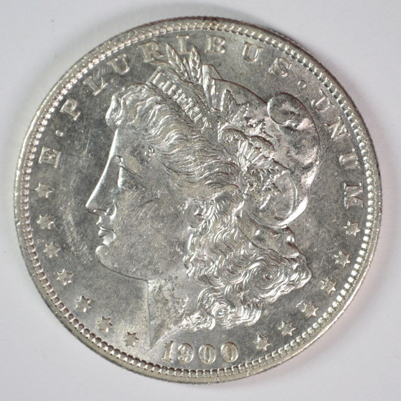 1900-S MORGAN DOLLAR CHOICE BU SEMI-KEY