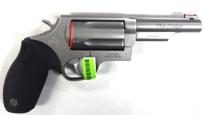 Taurus 45-410 Judge Revolver 45LC/410 Gauge. New in