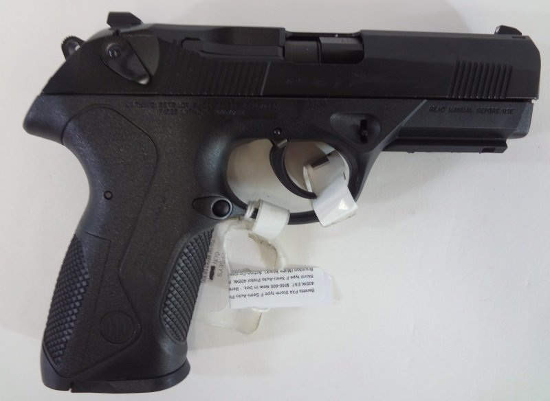 Beretta PX4 Storm type F Semi-Auto Pistol 40SW.EST.