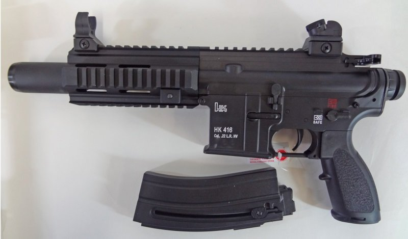Walther HK 416 22LR Pistol New in box.