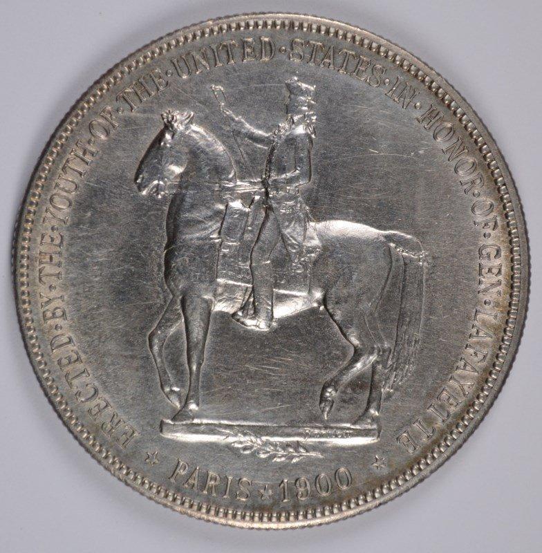 1900 LAFAYETTE DOLLAR, CHOICE BU