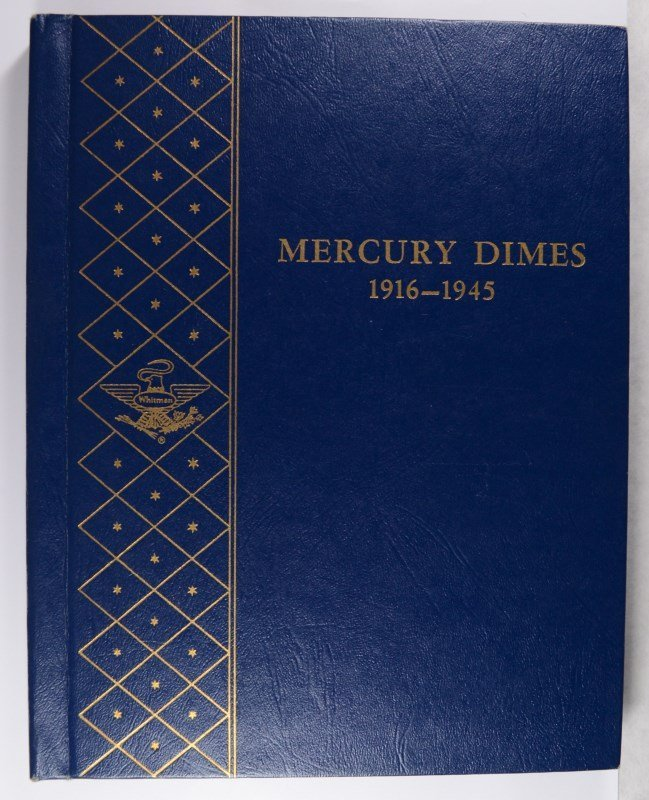 NICE SET OF MERCURY DIMES 1916-1945 MISSING ONLY 1916-D