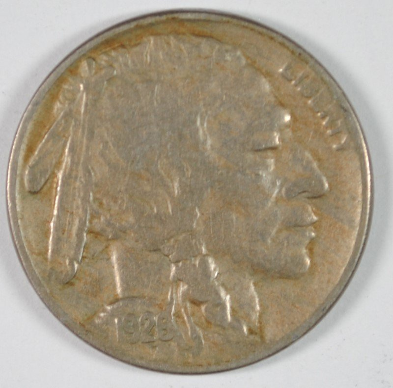 1926-S BUFFALO NICKEL, VF KEY DATE