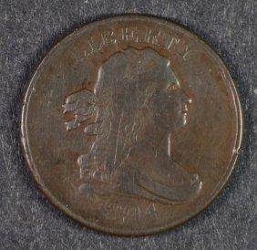 1804 Half Cent Vf/xf