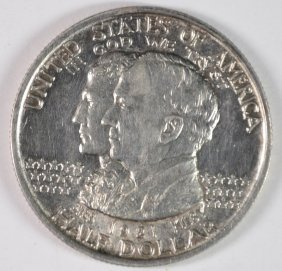 1921 Alabama Half Dollar Gem Bu White