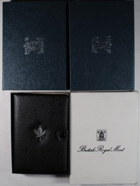 4 Royal British Proof Sets; 1984, 1985, 1986, 1988