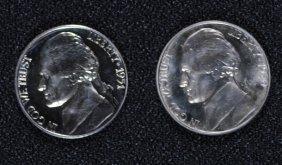 1950 & 1951 Gem Proof Jefferson Nickels, Super Coins!!