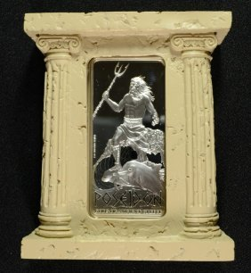 2015 Niue Gods Of Ancient Greece Poseidon 2 Oz Silver