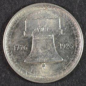 1926 Sesquicentennial Commemorative Half Dollar Ch Bu