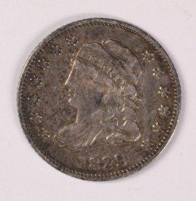 1829 Bust Half Dime Xf