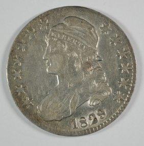 1829 Bust Half Dollar Xf/au