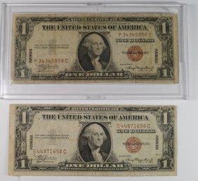 ( 2 ) 1953-a Series Hawaii World War Ii Issue $1.00