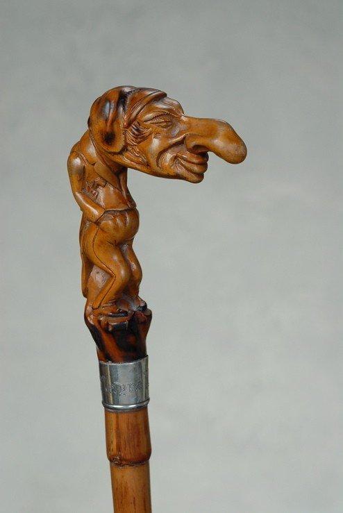 10: An anti-semitic cane of a Jewish man