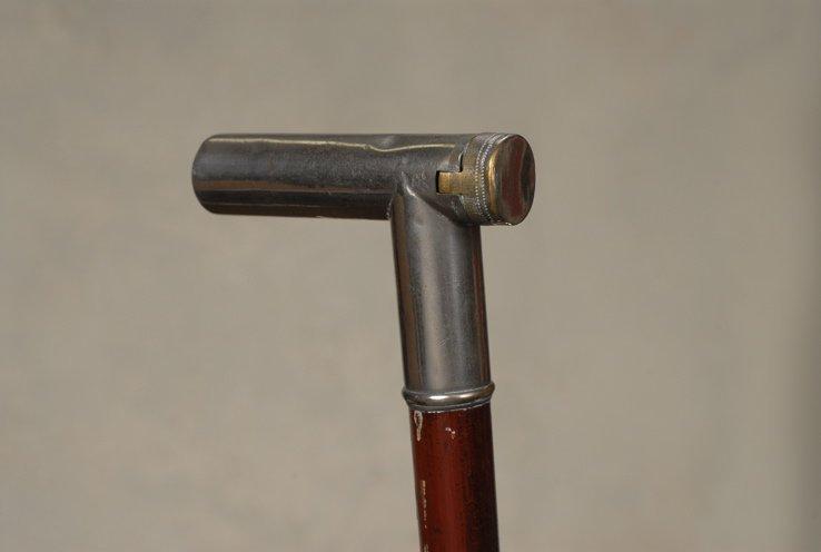 73: A very good English vesta cane