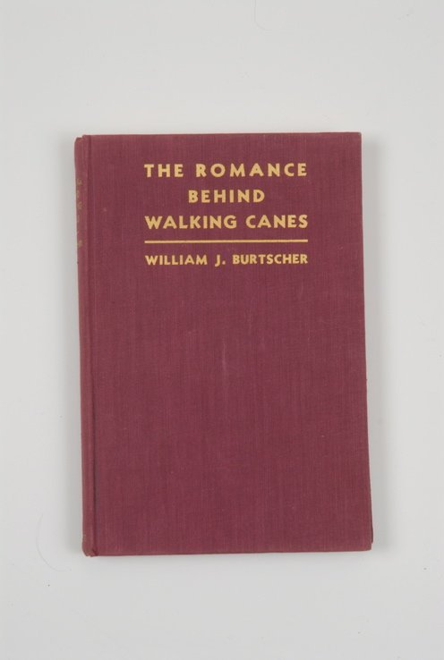 92: A hardbound copy of The Romance Behind Walking Cane