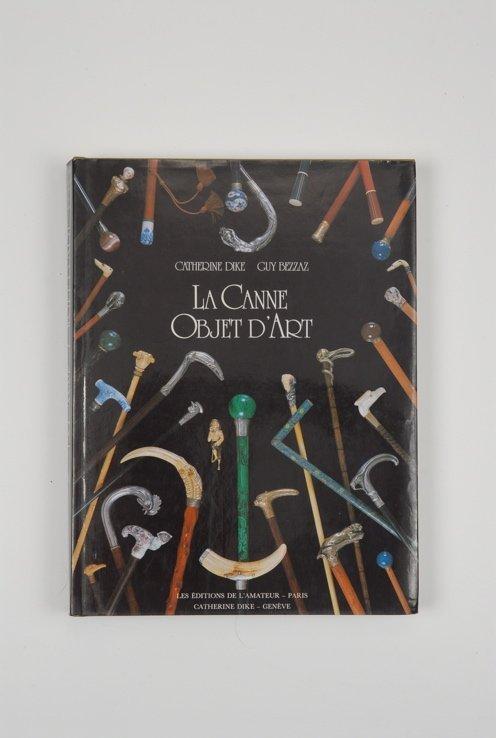 93: A hardbound copy of La Canne Objet D'Art