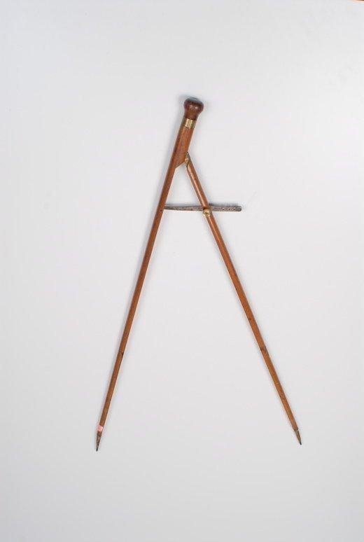 A drill sergeant's pace stick gadget cane - 2