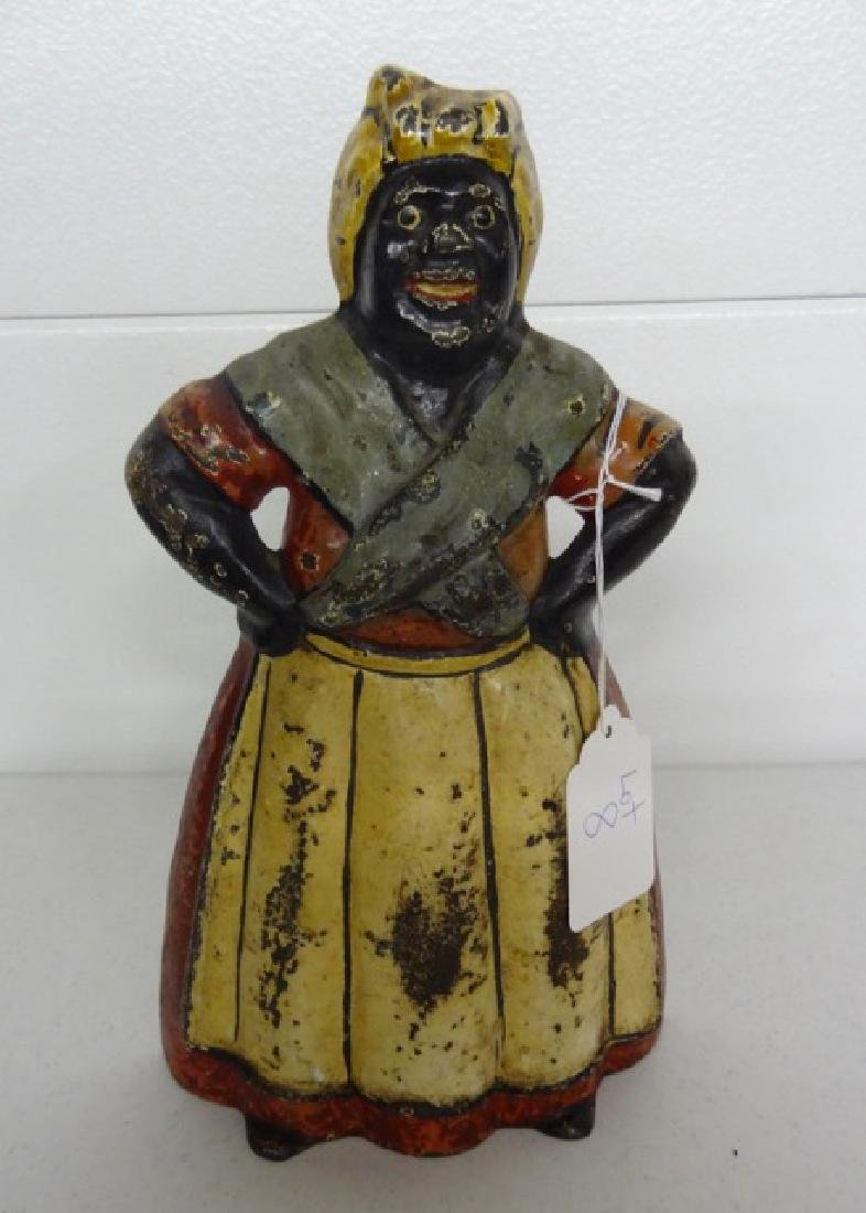Aunt Jemima Cast Iron Doorstop