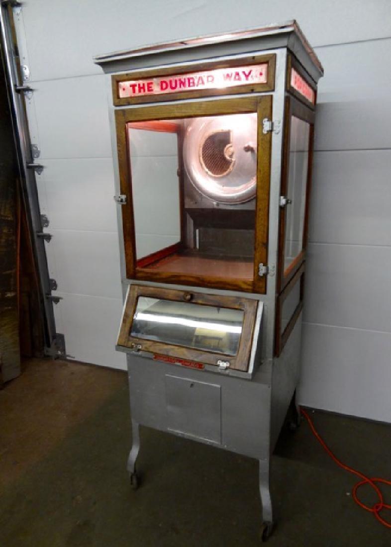Rare Dunbar Way Early Popcorn Machine