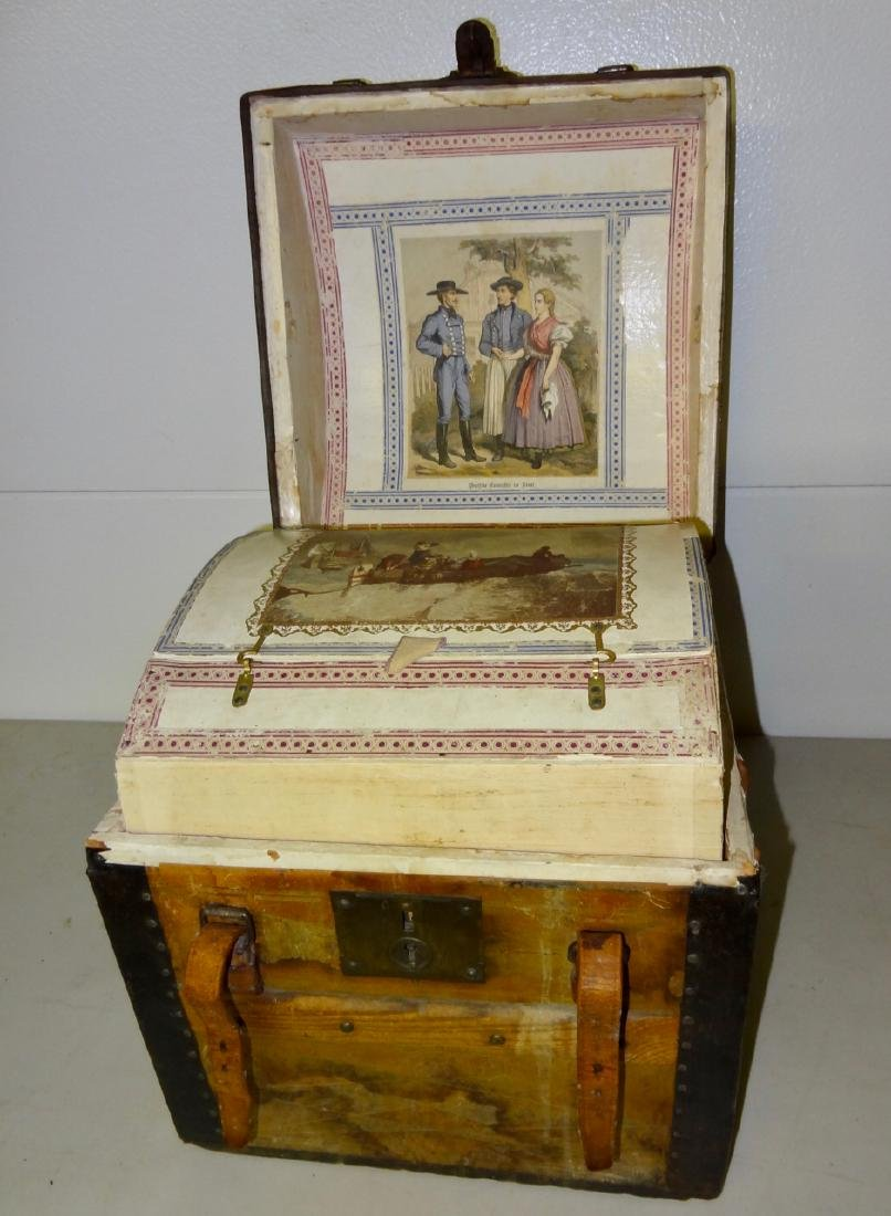 Small 1867 Traveling Trunk