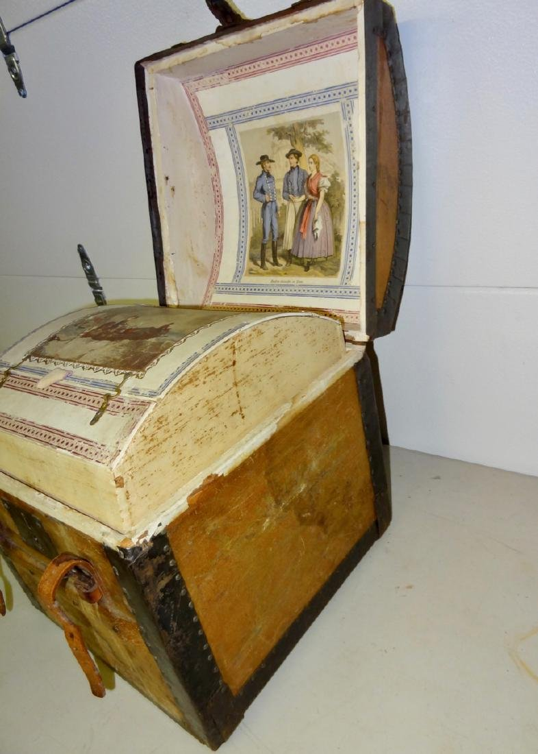Small 1867 Traveling Trunk - 2