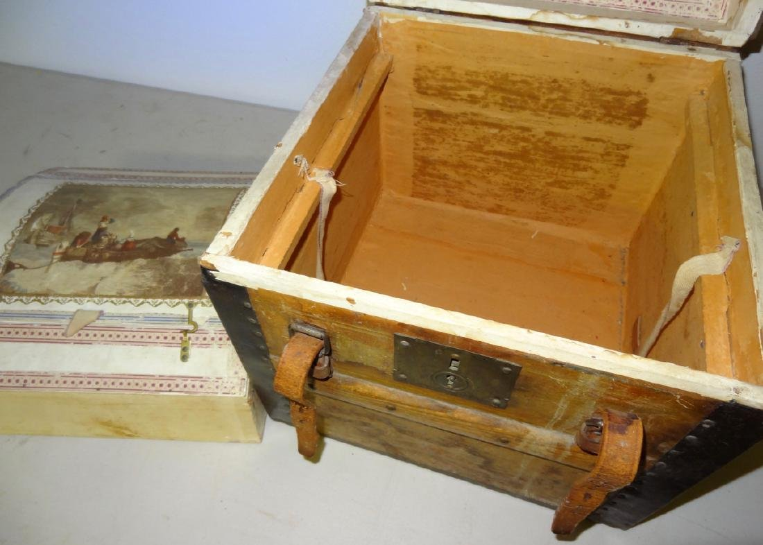 Small 1867 Traveling Trunk - 3