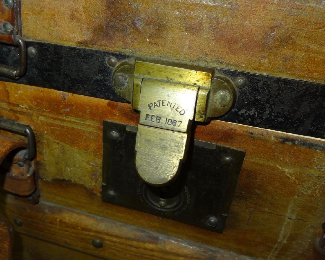 Small 1867 Traveling Trunk - 4