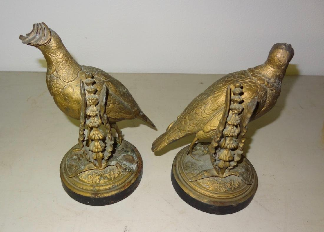 Two Figural Game Birds - 2
