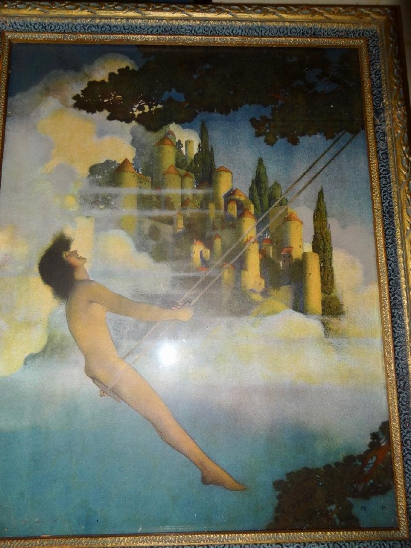 4 Original Maxfield Parrish Framed Prints - 2