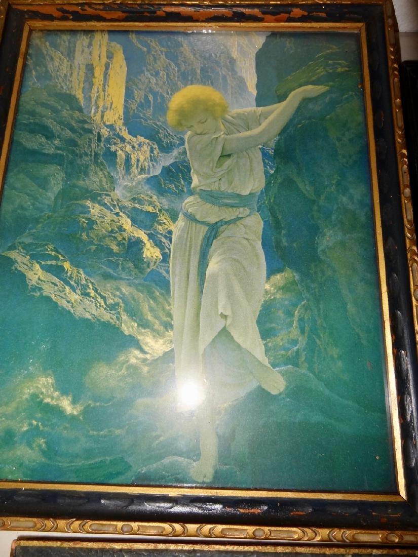 4 Original Maxfield Parrish Framed Prints - 4
