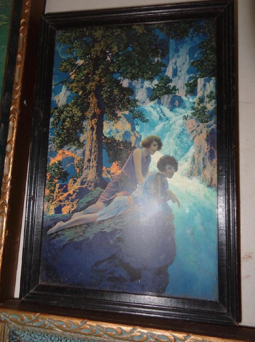 4 Original Maxfield Parrish Framed Prints - 5