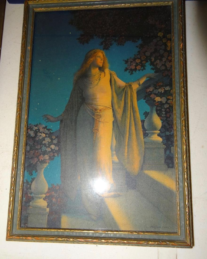 4  Original Maxfield Parrish Framed Prints - 3