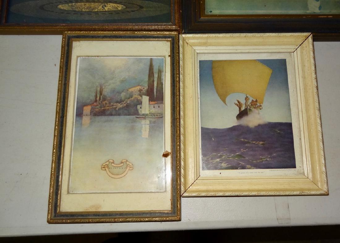 6 Original Maxfield Parrish Framed Prints - 3