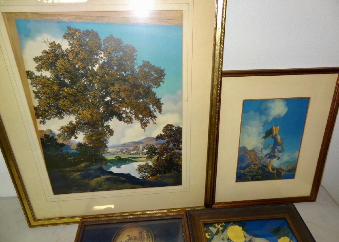 6 Original Maxfield Parrish Framed Prints - 4