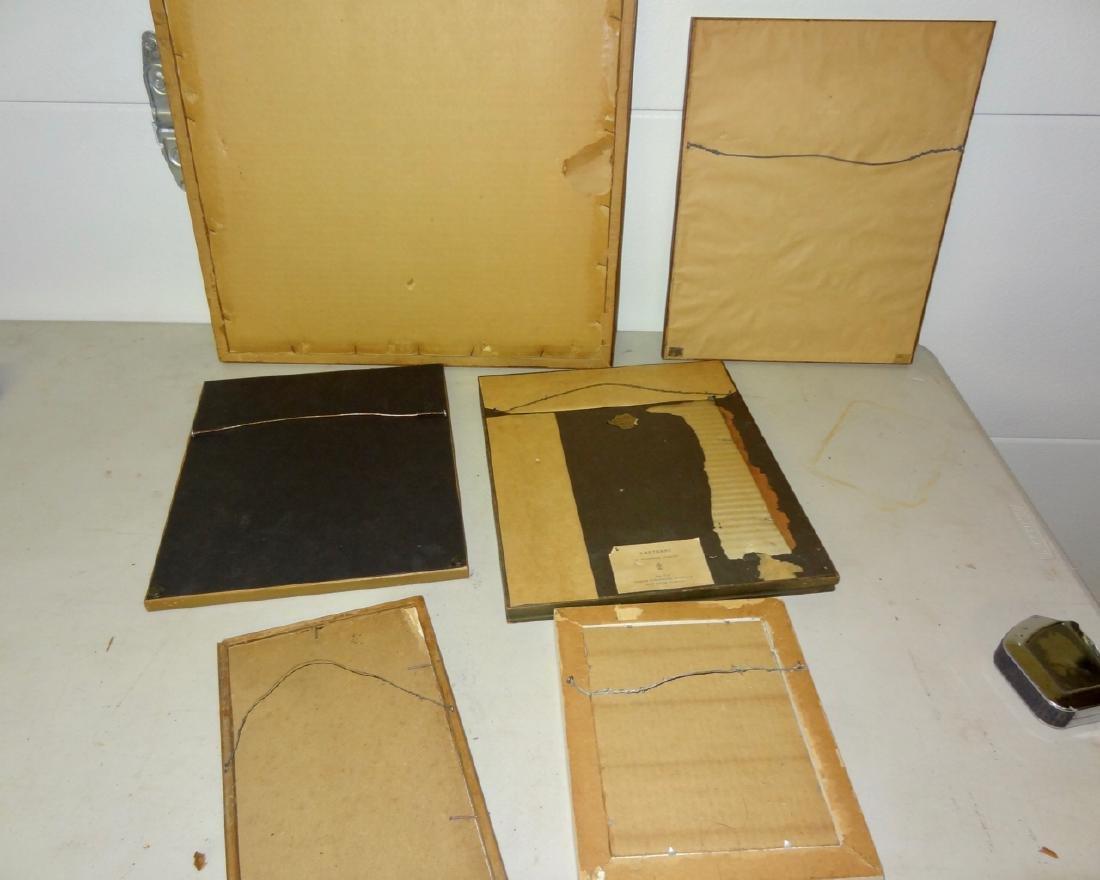 6 Original Maxfield Parrish Framed Prints - 5