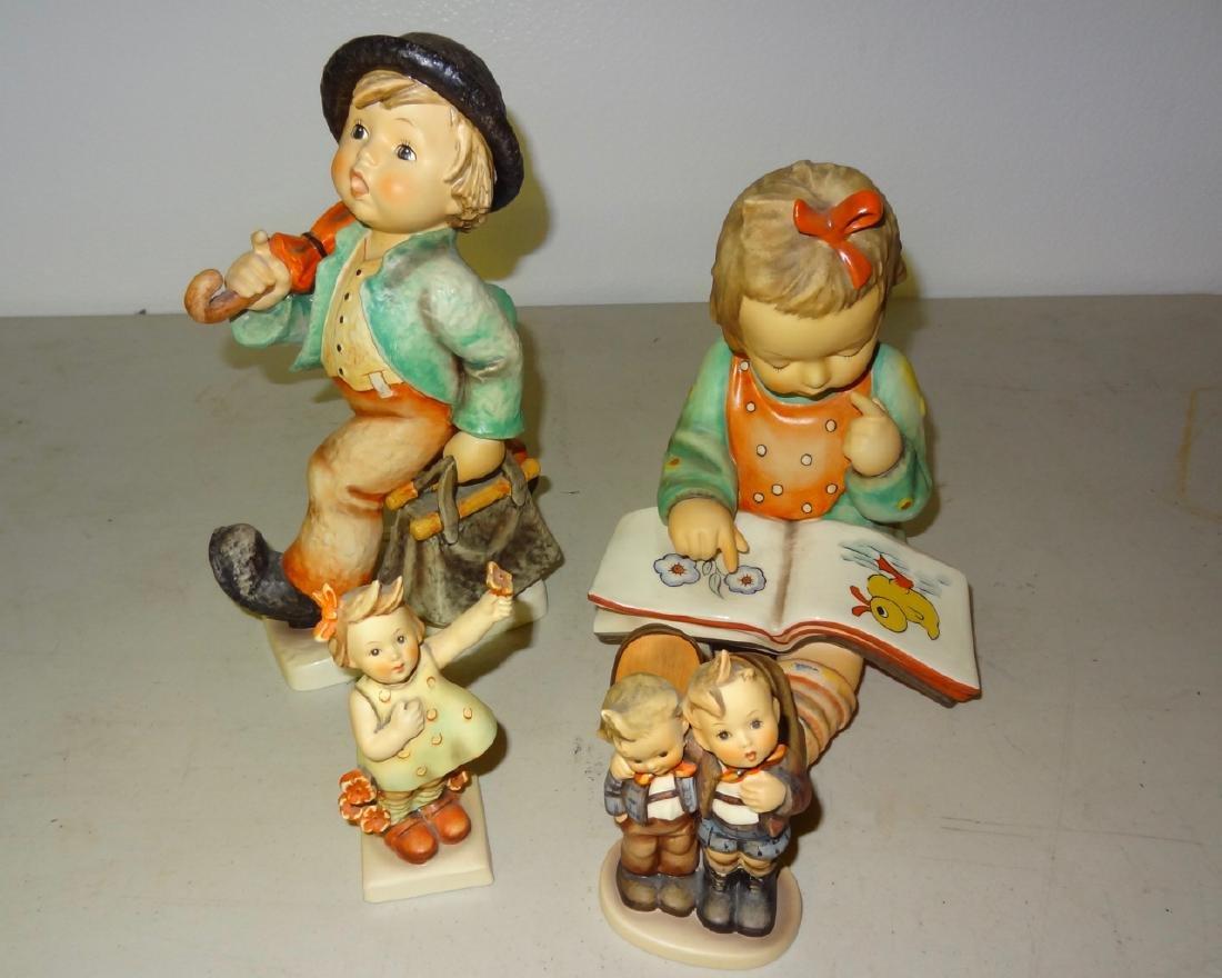 4 Hummel Figurines