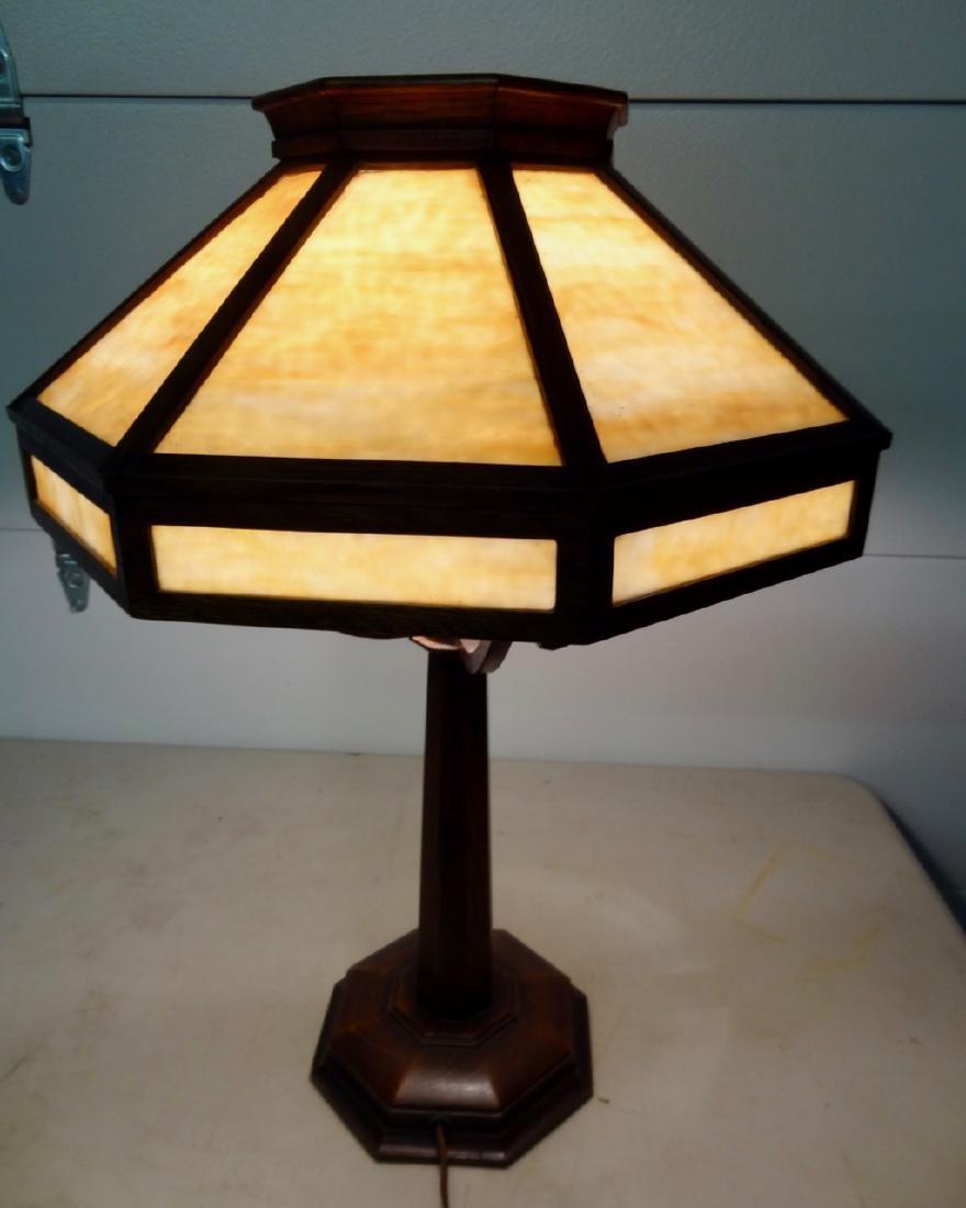 Rockford Light & Furn. Co. Mission Lamp