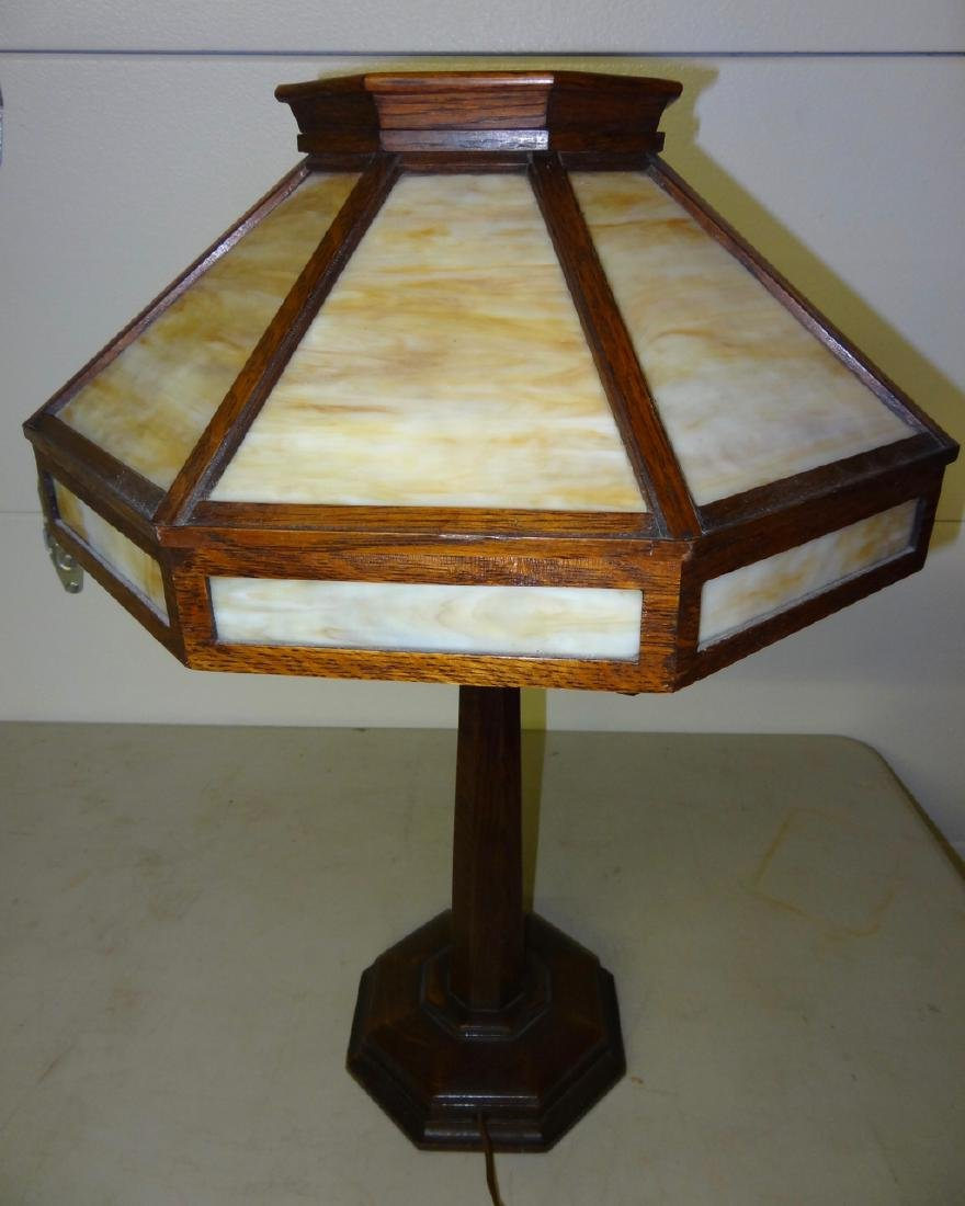 Rockford Light & Furn. Co. Mission Lamp - 2