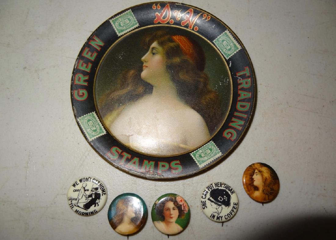 S&H Green Stamps Advertising Tray
