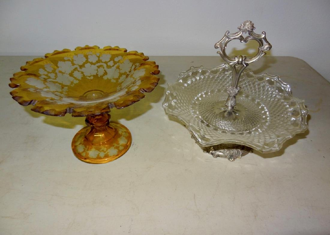 2 Early Candy Dishes
