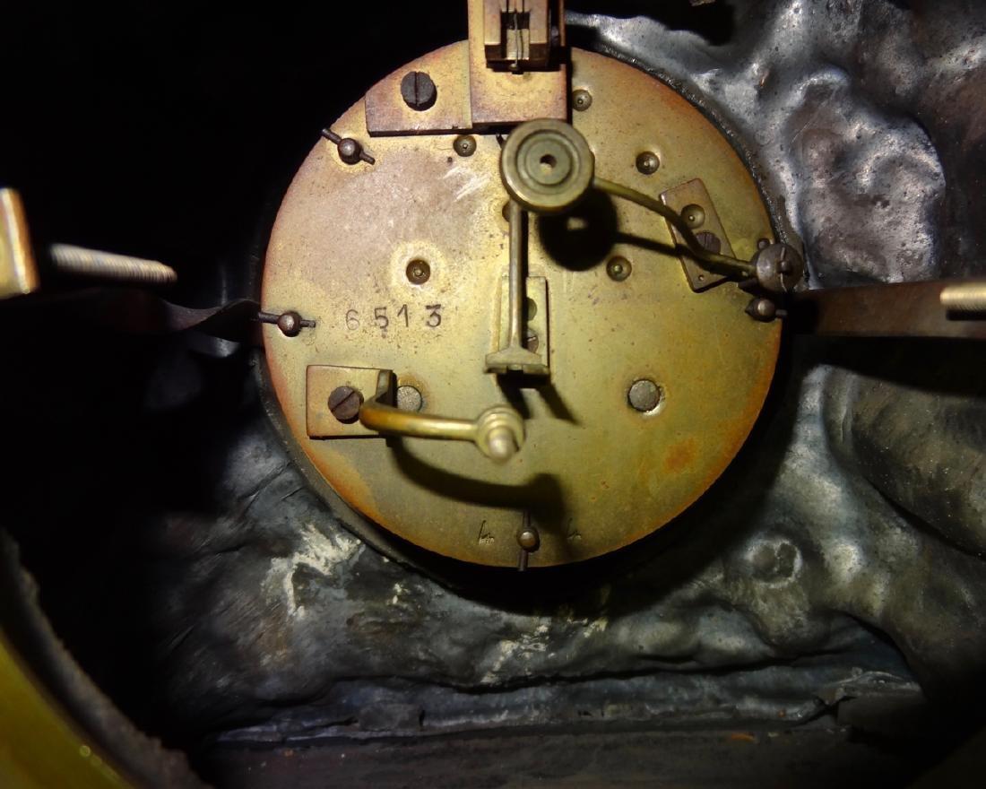 Ornate 3 Pc. French Clockset - 5