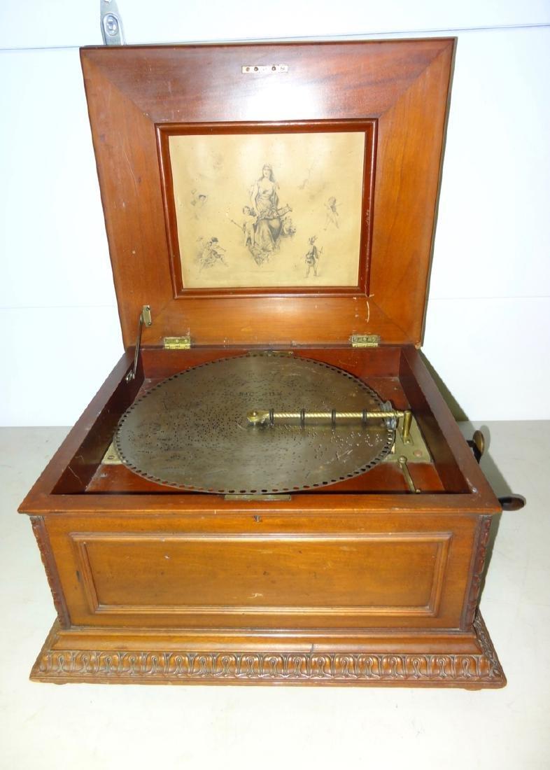 "Double Comb Regina 16"" Disc Music Box"