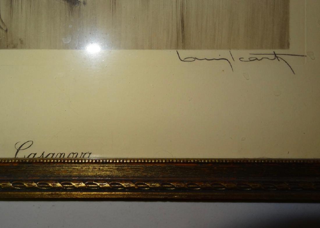 Original Louis Icart Frame Print Casanova - 4