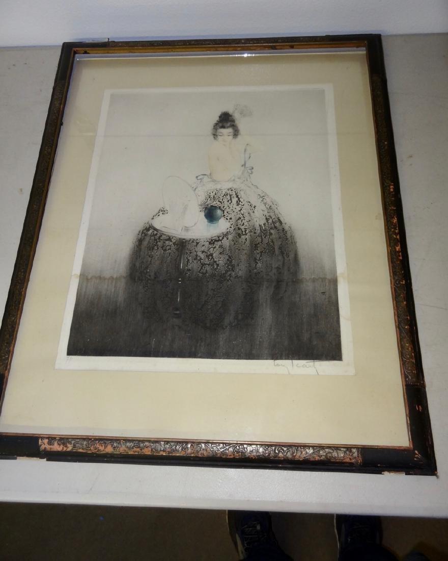Framed Icart Print
