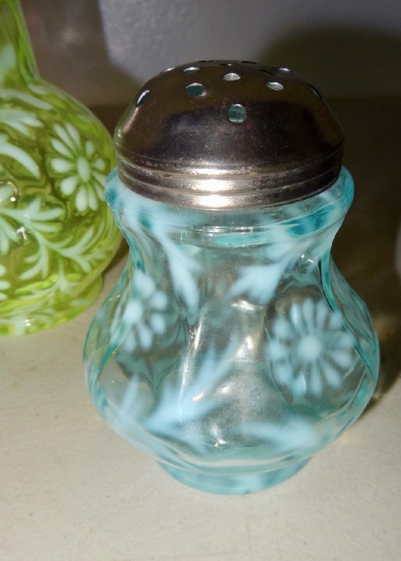 3 Opalescent Victorian Glass - 3